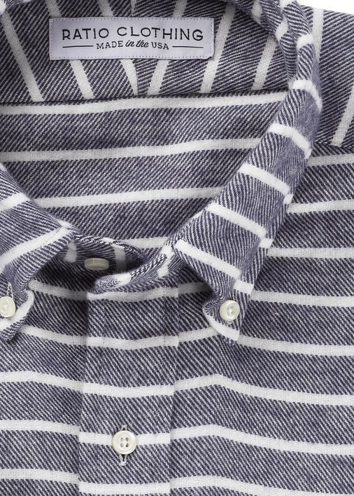 Big Sur Striped Flannel