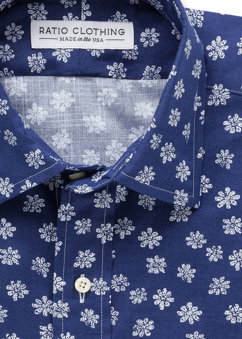 Navy Biscayne Floral Product Image 1