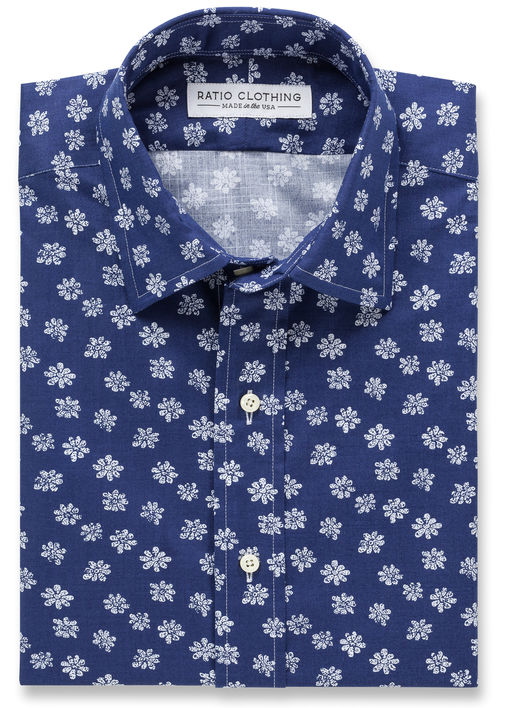 Navy Biscayne Floral Product Image 2