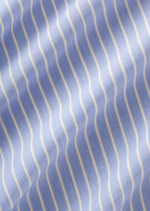 Yellow Stripe Blue End on End Product Image 5