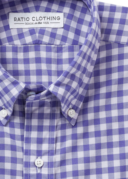 Image for Miramar Violets Gingham