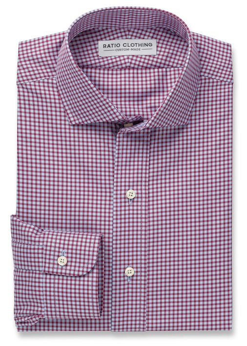 Light Blue and Berry Walden Gingham Product Image 3