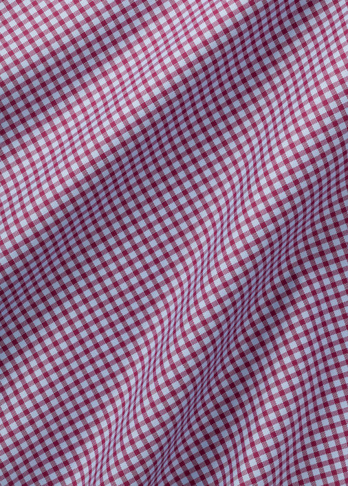 Light Blue and Berry Walden Gingham Product Image 5
