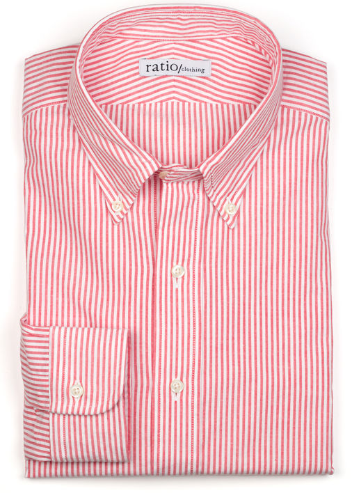 Red Stripe Seersucker Product Image 3