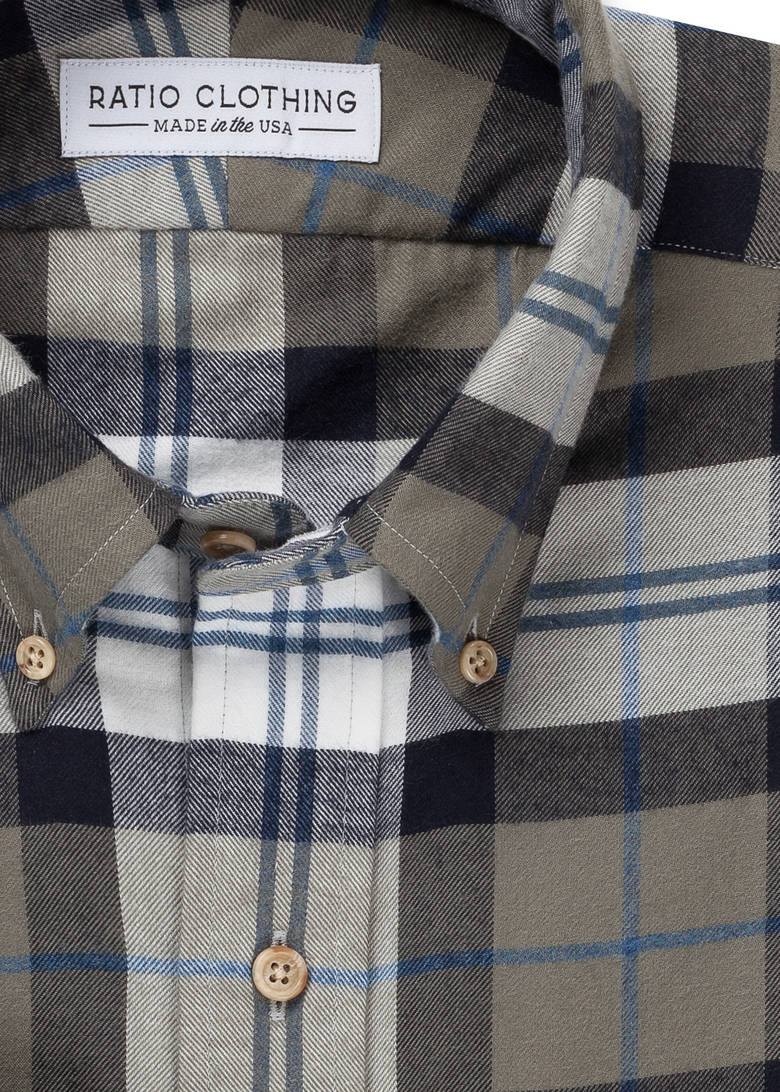 Olive Mesa Flannel
