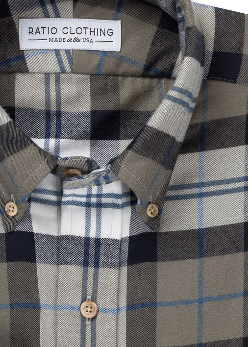 Image for Olive Mesa Flannel