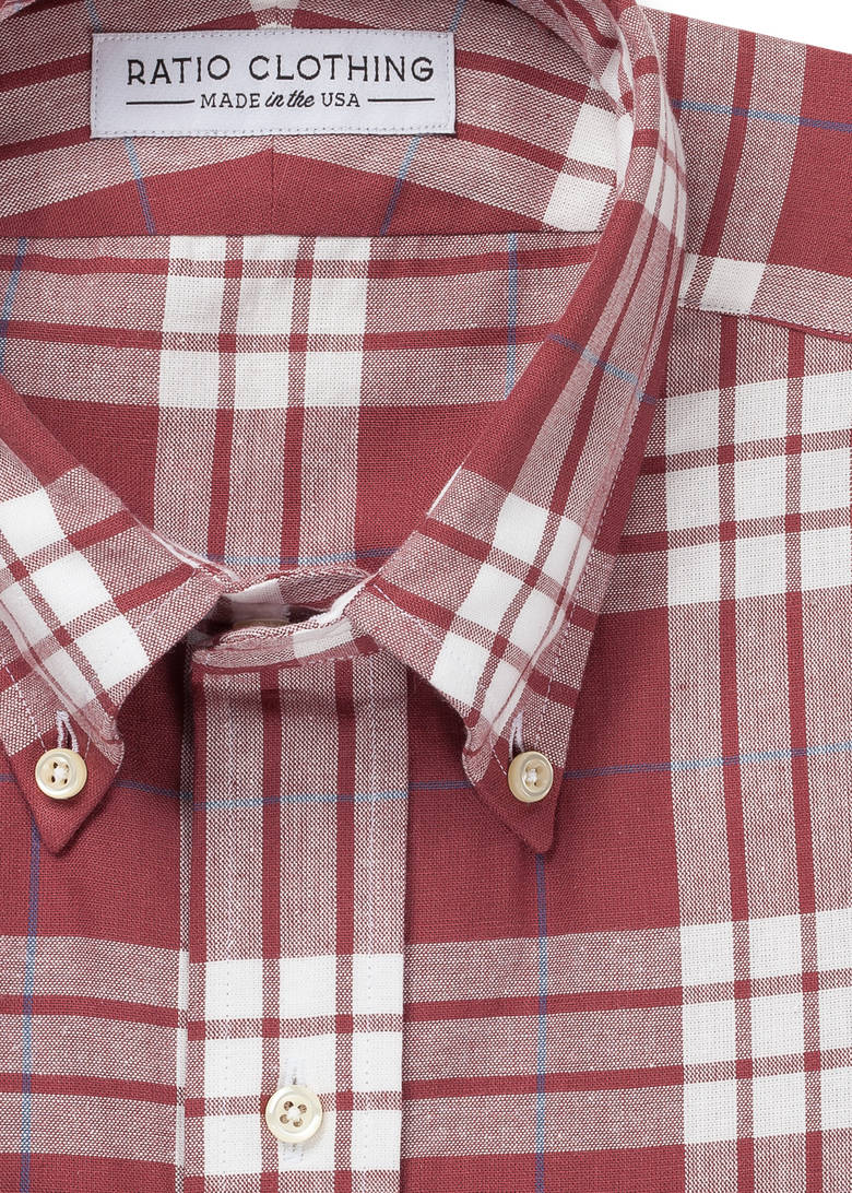 Marsala Thomson Plaid