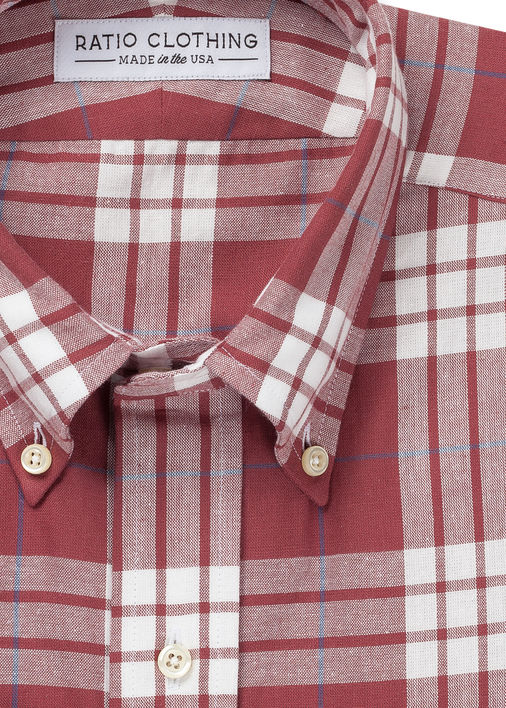 Image for Marsala Thomson Plaid