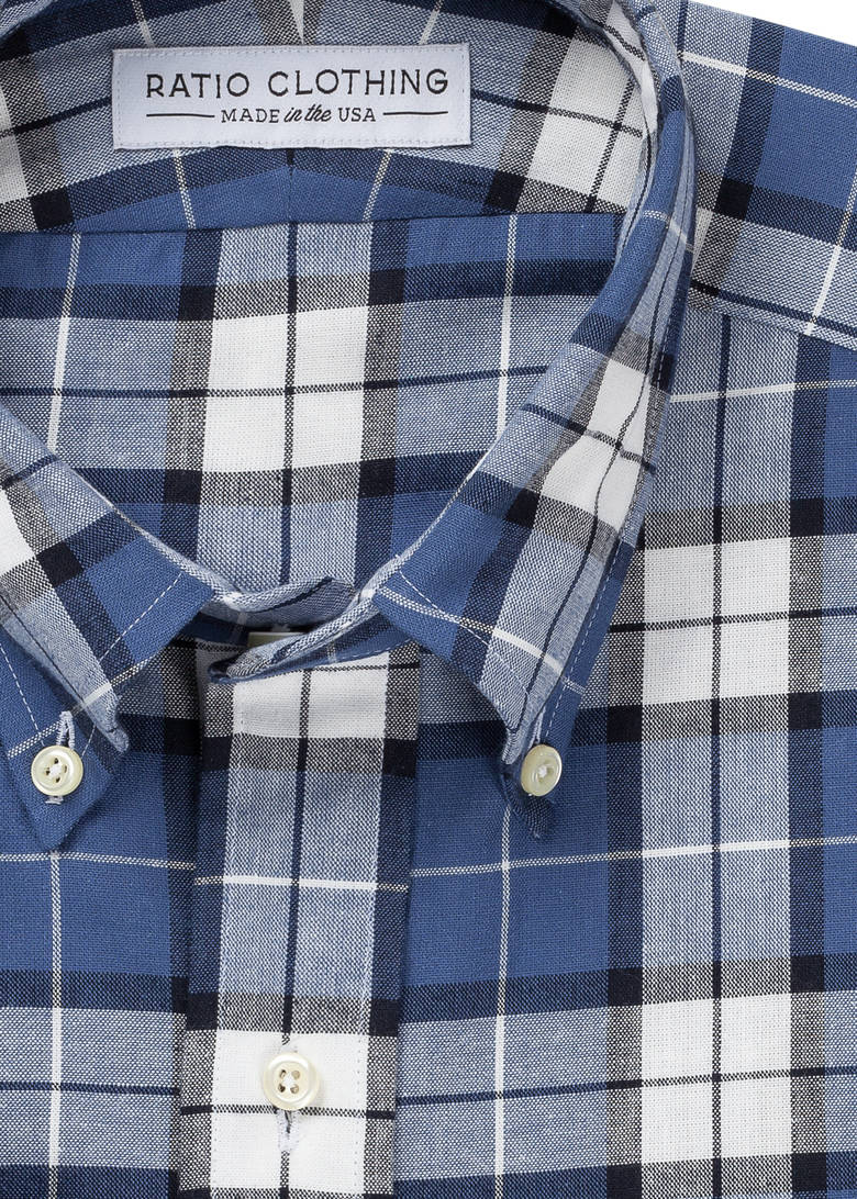 Blue Thomson Plaid