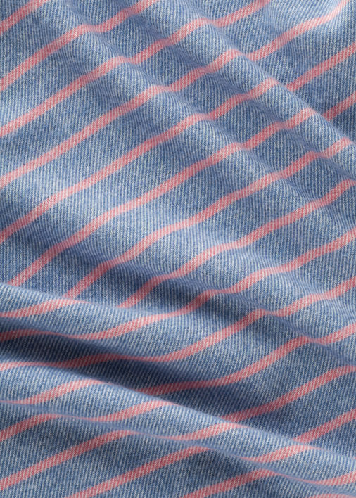 Blue and Pink Big Sur Flannel Product Image 5