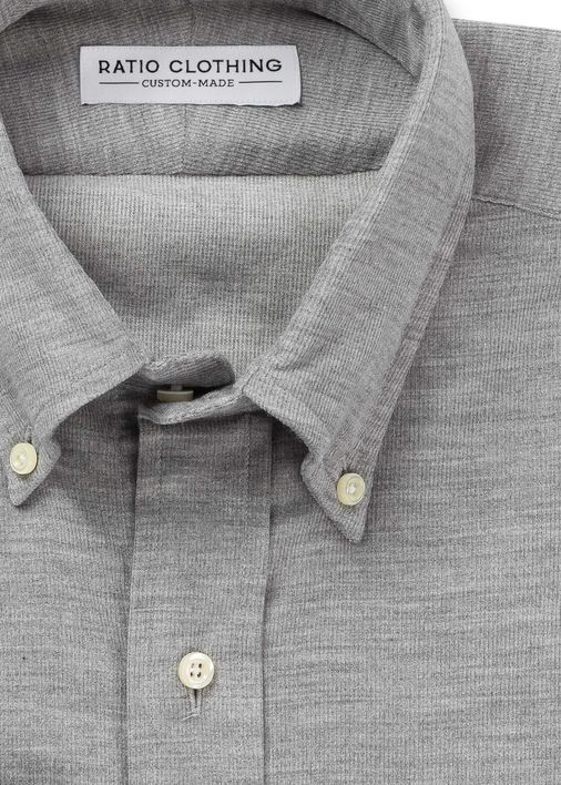 Image for Gray Melange Corduroy
