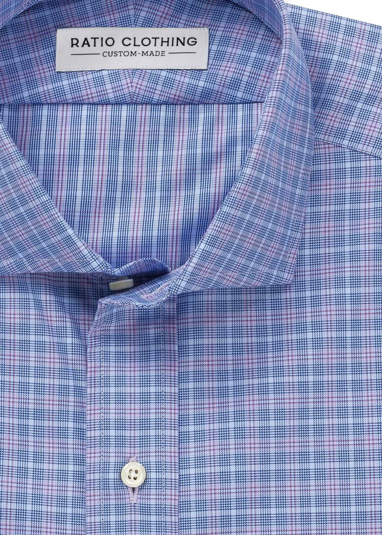 Blue and Lavender Knox Check Product Image 2