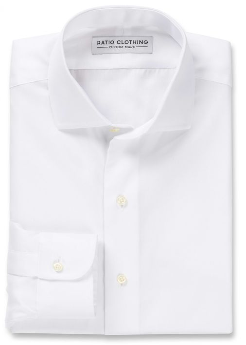 White Royal Oxford Product Image 3