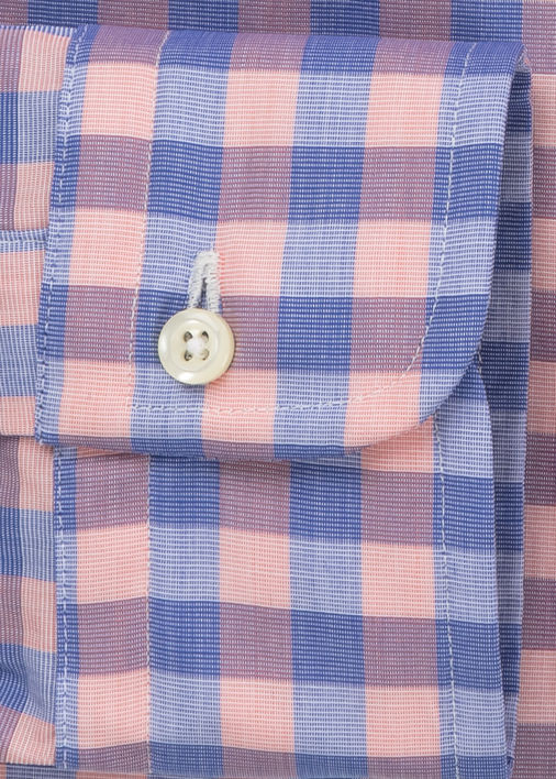 Peach and Blue Bryce Gingham Product Image 4