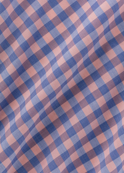 Peach and Blue Bryce Gingham Product Image 5