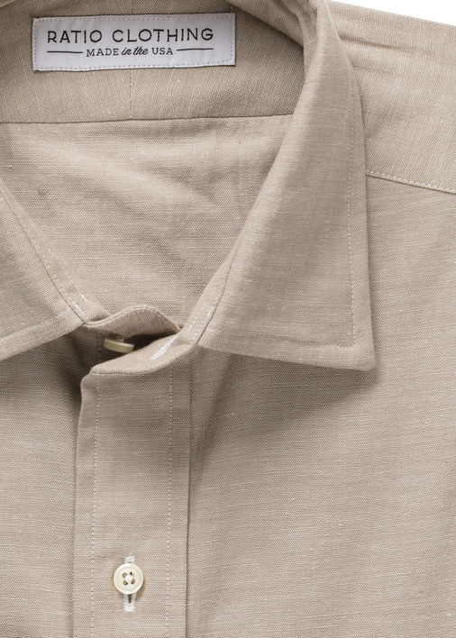 Image for Highlands Sand Selvedge Chambray
