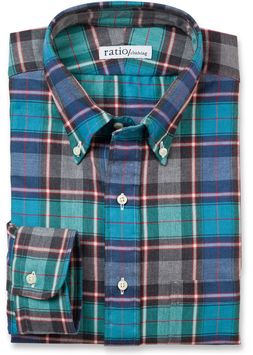 Evergreen Flannel Product Image 3
