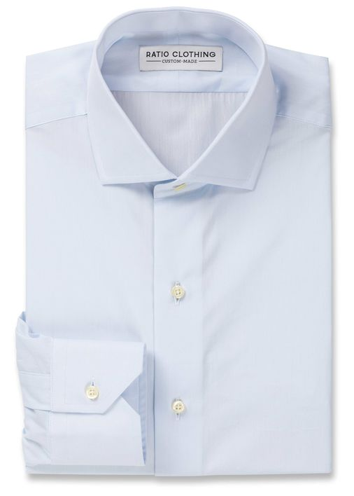 Light Blue Signature Broadcloth Product Image 3