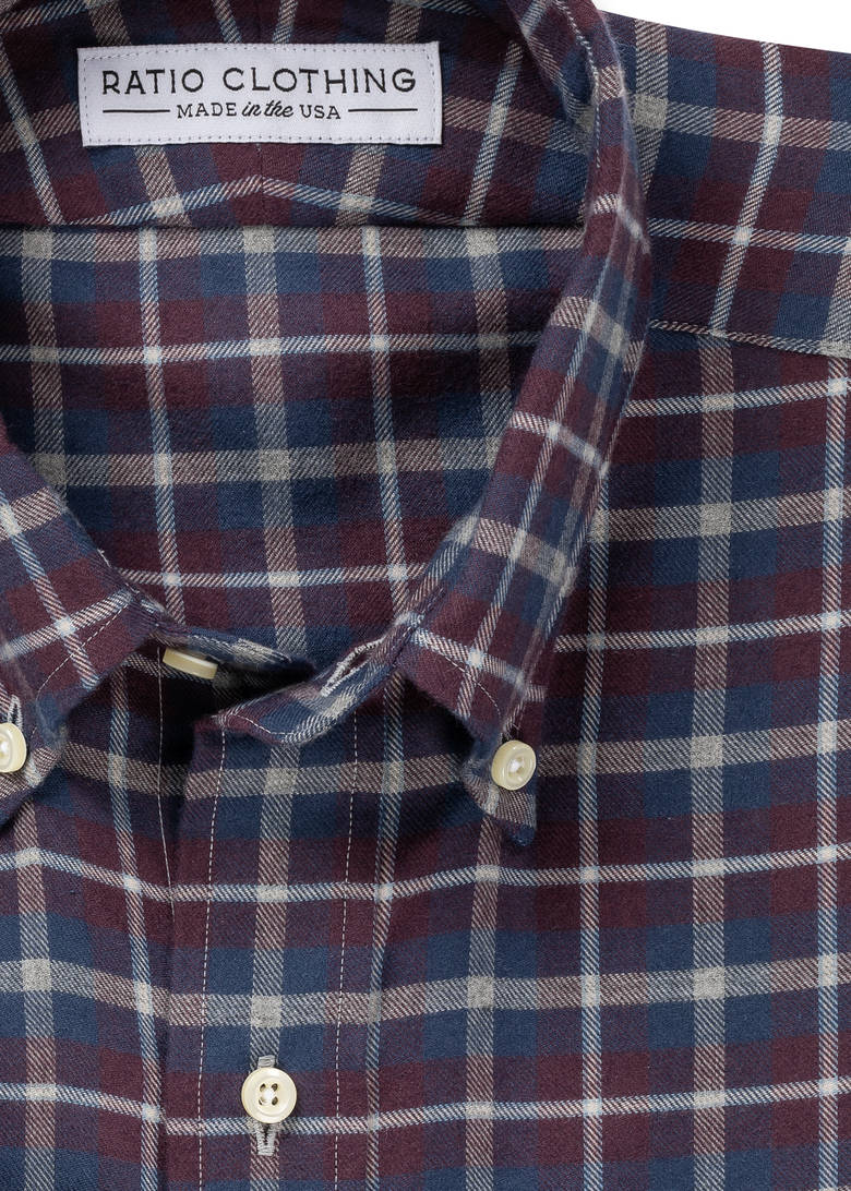 Aldrich Cotton Merino Flannel