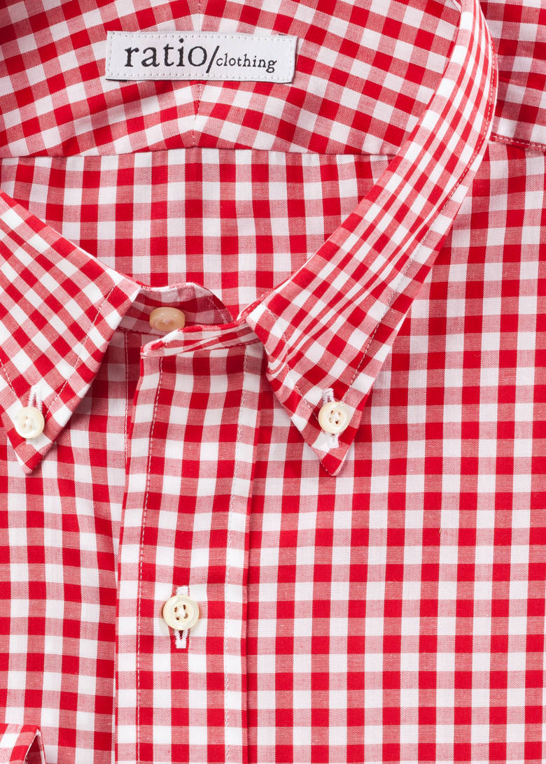 Red Medium Gingham
