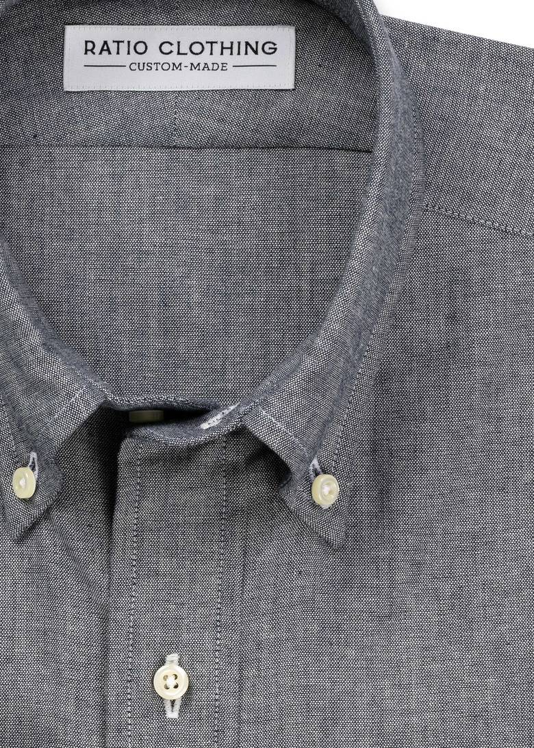 Dark Blue Selvedge Chambray