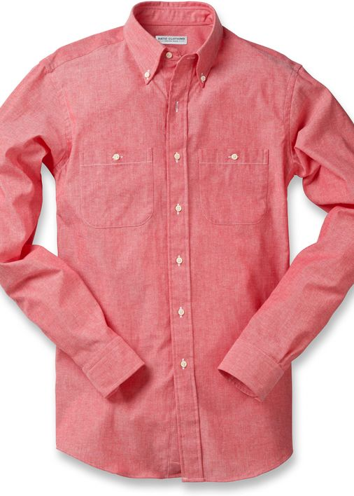 Red Selvedge Chambray Utility Product Image 5