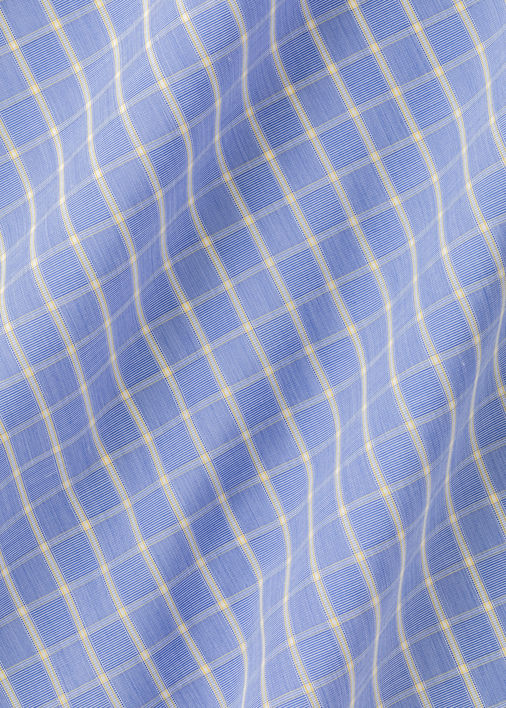 Blue and Yellow Baldwin Check Product Image 6