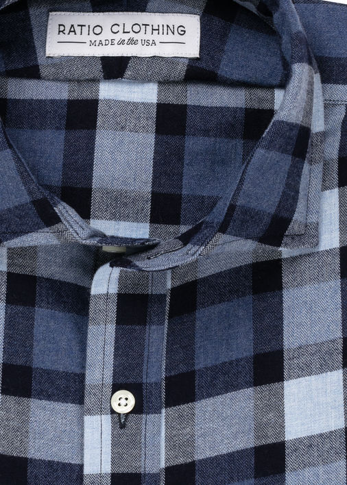 Image for Blue Willem Flannel