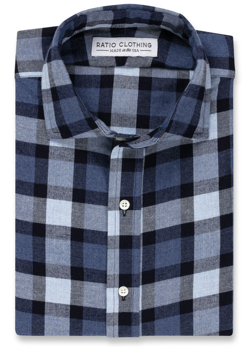Blue Willem Flannel Product Image 3