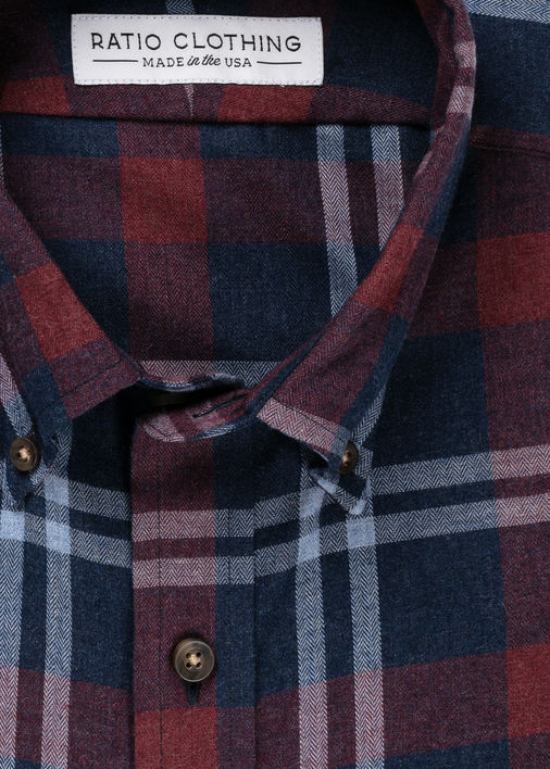 Image for Marsala Barnett Flannel