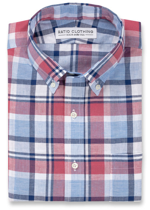 Berry Reynolds Plaid Product Image 3