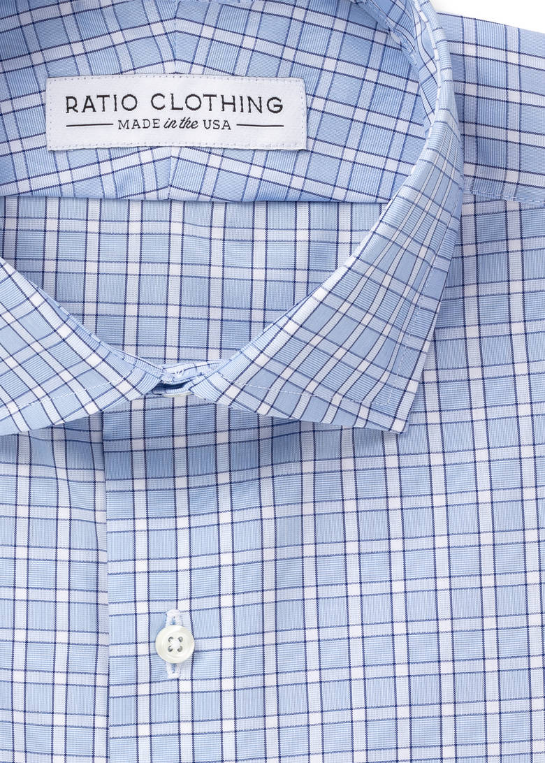 Light Blue Penn Traveler Poplin