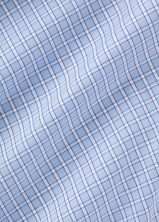 Light Blue Penn Traveler Poplin Product Image 4
