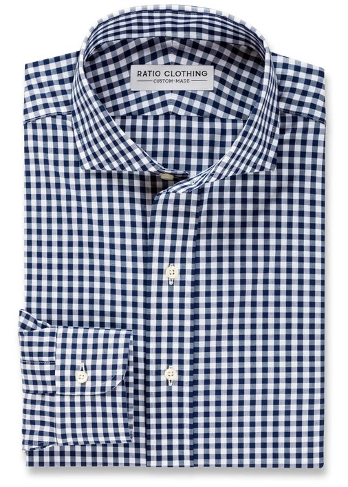 Navy Medium Gingham Product Image 3