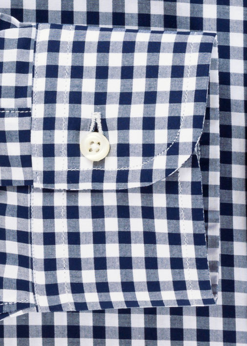 Navy Medium Gingham Product Image 4