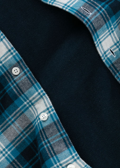 Blue Double-Face Flannel Product Image 4