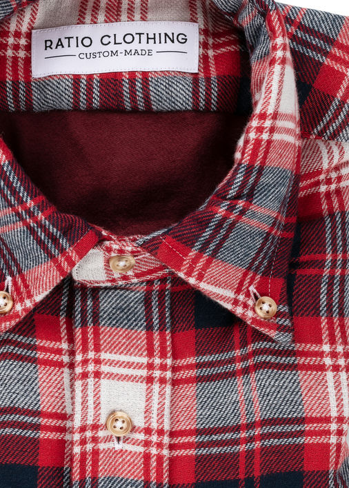 Image for Red Double-Face Flannel