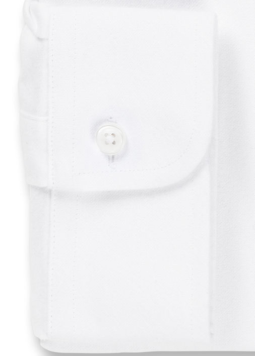 White Brushed Oxford Product Image 4