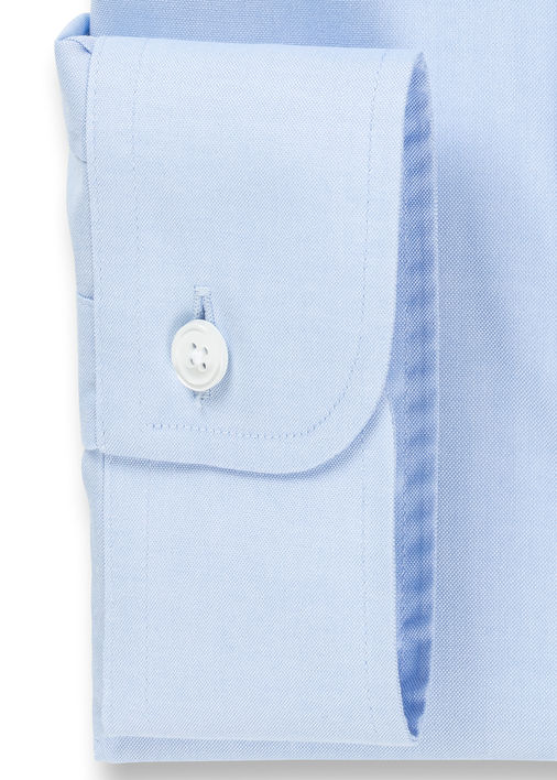 Light Blue Non-Iron Classic Pinpoint Product Image 4