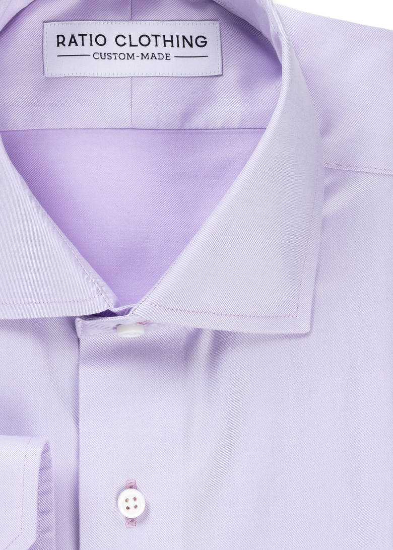 Lavender Non-Iron Twill Product Image 2