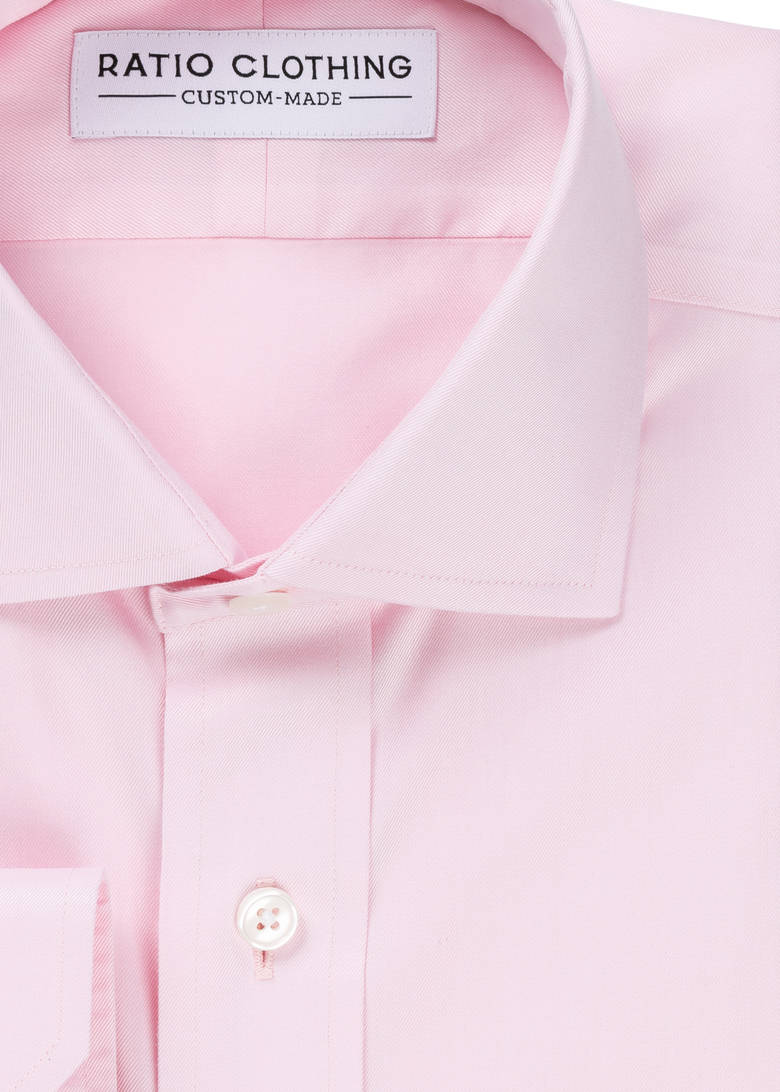 Pink Non-Iron Twill Product Image 2