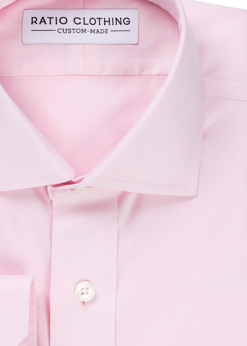 Image for Pink Non-Iron Twill