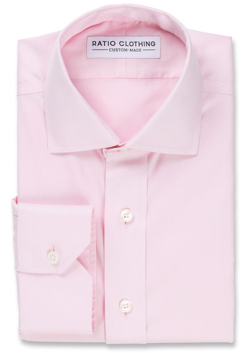 Pink Non-Iron Twill Product Image 3