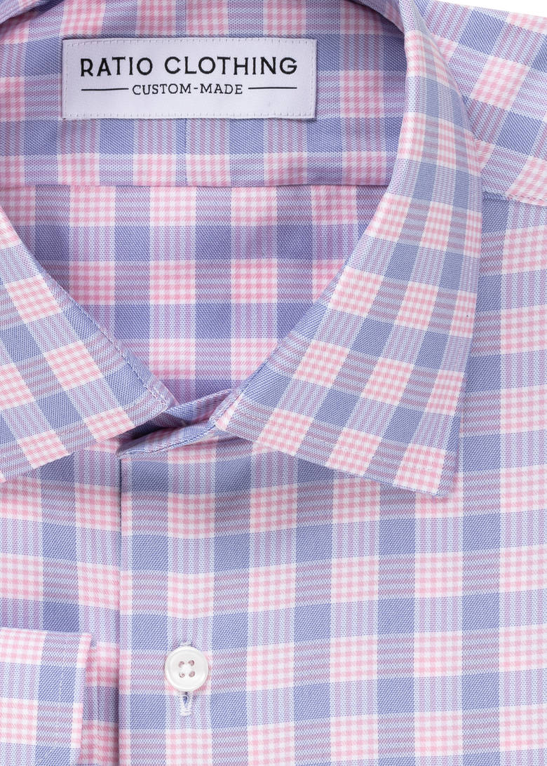 Performance Pink Check Product Image 2