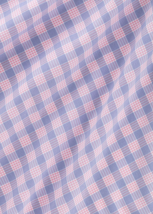 Performance Pink Check Product Image 5