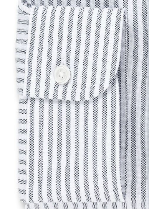 Black University Stripe Oxford Product Image 4