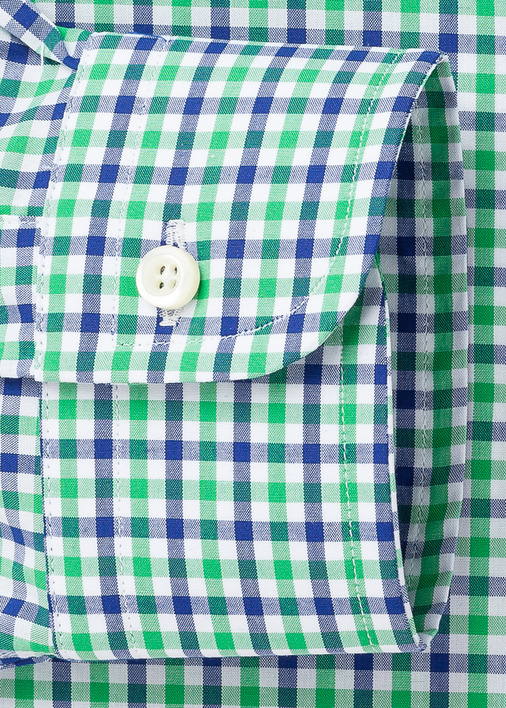 Green and Blue Mini-Gingham Product Image 4