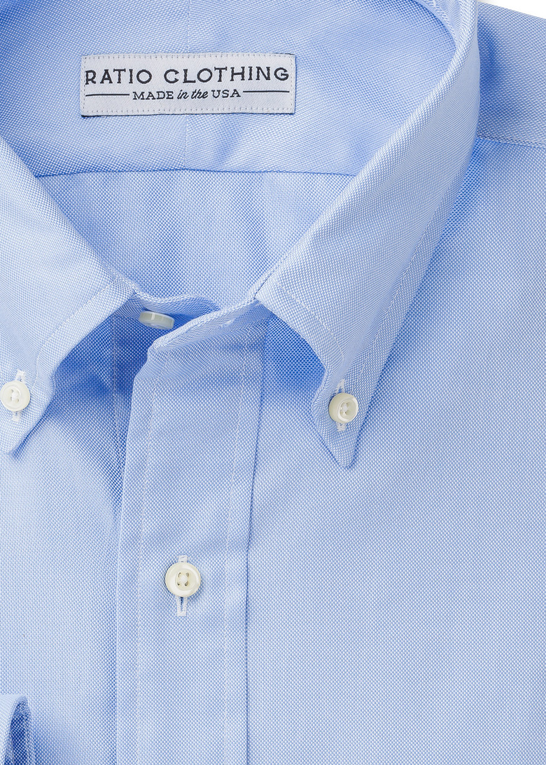 Light Blue Summer Oxford