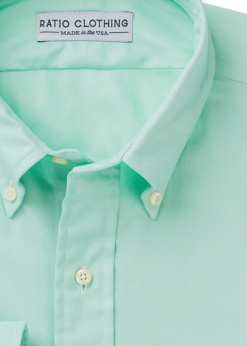 Mint Green Summer Oxford