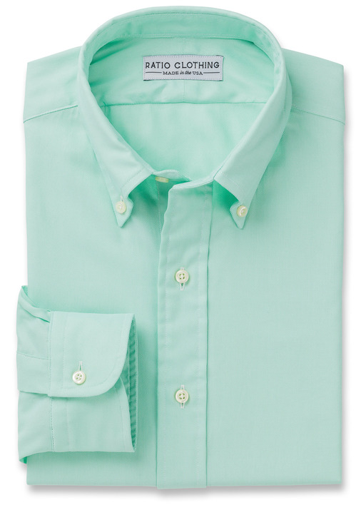 Mint Green Summer Oxford Product Image 3